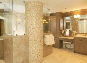 Master Bathroom with a Place for Everything