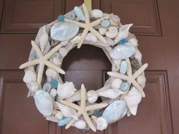 shell-wreath